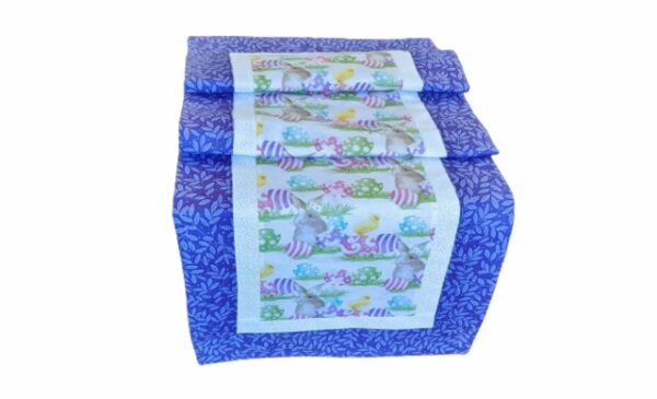 Supreme Accents Happy Easter Table Runner Heather 51 inch