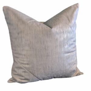 Supreme Accents Silver Mettalic Accent Pillow