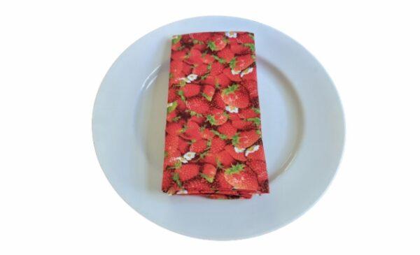 Supreme Accents Strawberry Patch Napkin