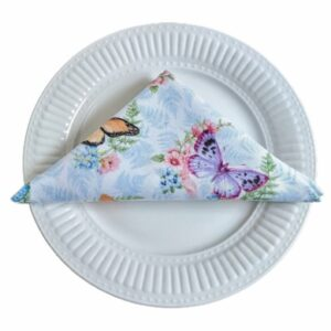 Supreme Accents Whispering Butterflies Napkin