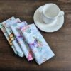 Supreme Accents Whispering Butterflies Napkin Set of 4