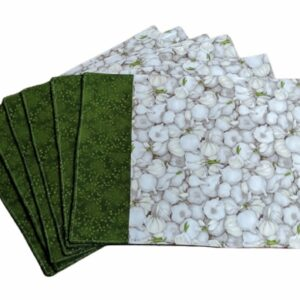 Supreme Accents Garlic Green Place mat Set of 6