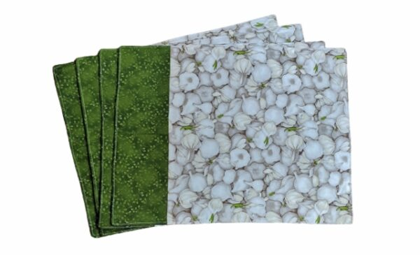 Supreme Accents Garlic Green Place mat Set of 4