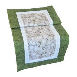 Supreme Accents Garlic Green Table Runner 38 inches