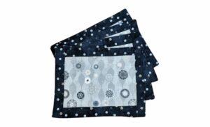 Supreme Accents Winter Snow Place mat Set of 4