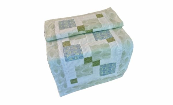 Supreme Accents Daphne Light Quilted Table-Runner 42 inches Long