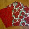 Classic Poinsettia Placemat Set of 6