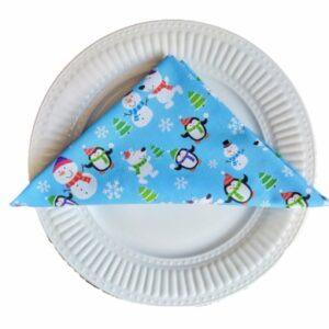Supreme Accents Holiday Fun Cotton Napkin