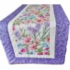 Supreme Accents Blooming Flowers Heather Table Runner 51 inches