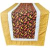 Supreme Accents Chili Pepper Gold Table Runner 51 inches Long