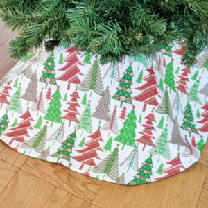 Supreme Accents Christmas Tree Forrest 36 inch Tree Skirt