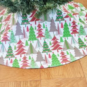 Supreme Accents Christmas Tree Forrest 46 inch Tree Skirt