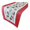 Supreme Accents Rooster Table Runner Red 38 inch