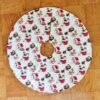 Supreme Accents Christmas Cats Tree skirt 36 inch