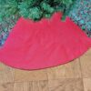 Supreme Accents Holly Berry & Red Christmas Tree Skirt 48 inches