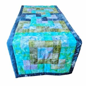 Supreme Accents Mystique Green Table Runner 60 inches