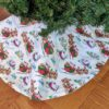 Supreme Accents Santas Bounty Tree Skirt 36 inches