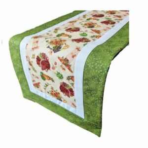 Supreme Accents Thanksgiving Green Table Runner 38 inches